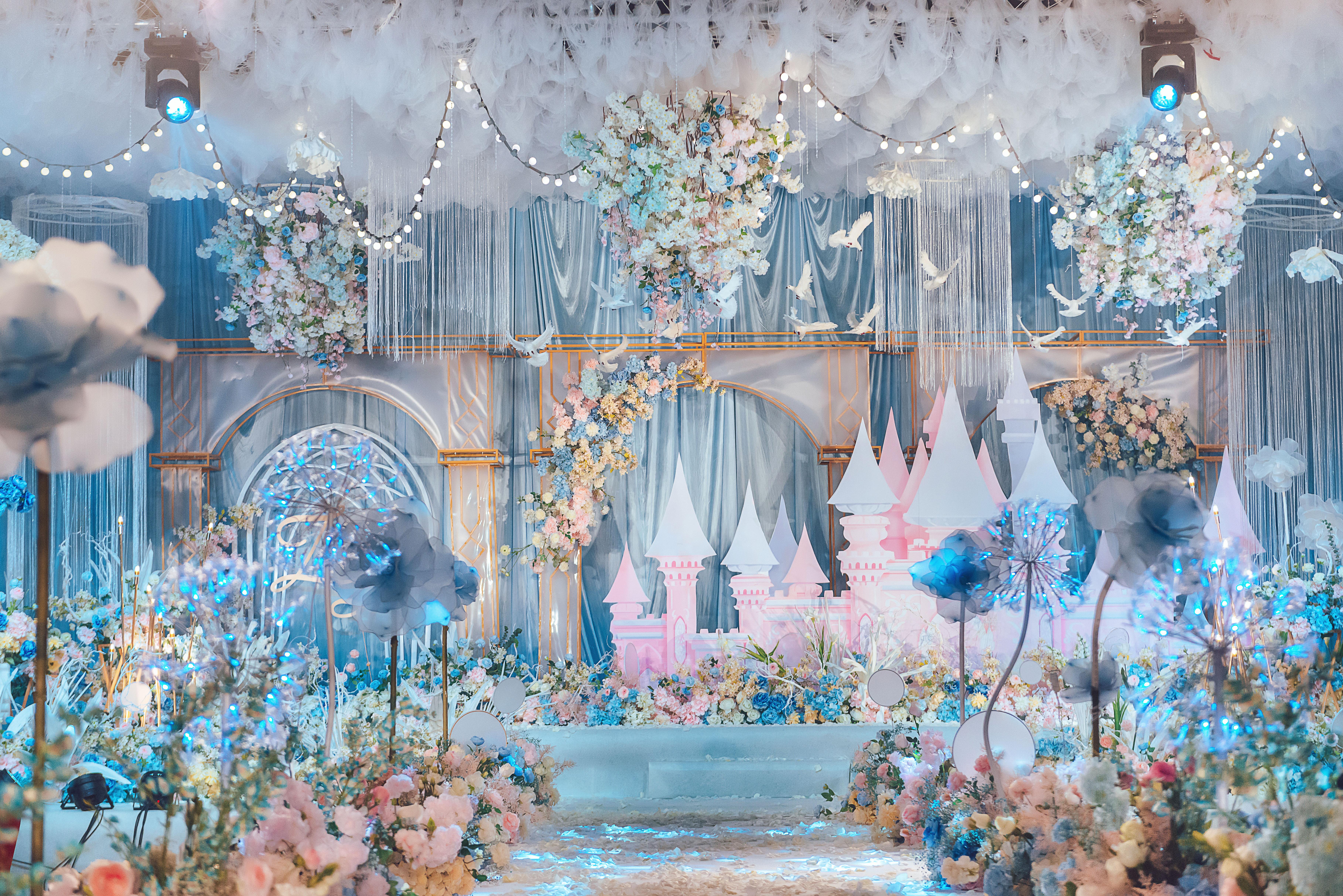 童話公主婚禮圖片