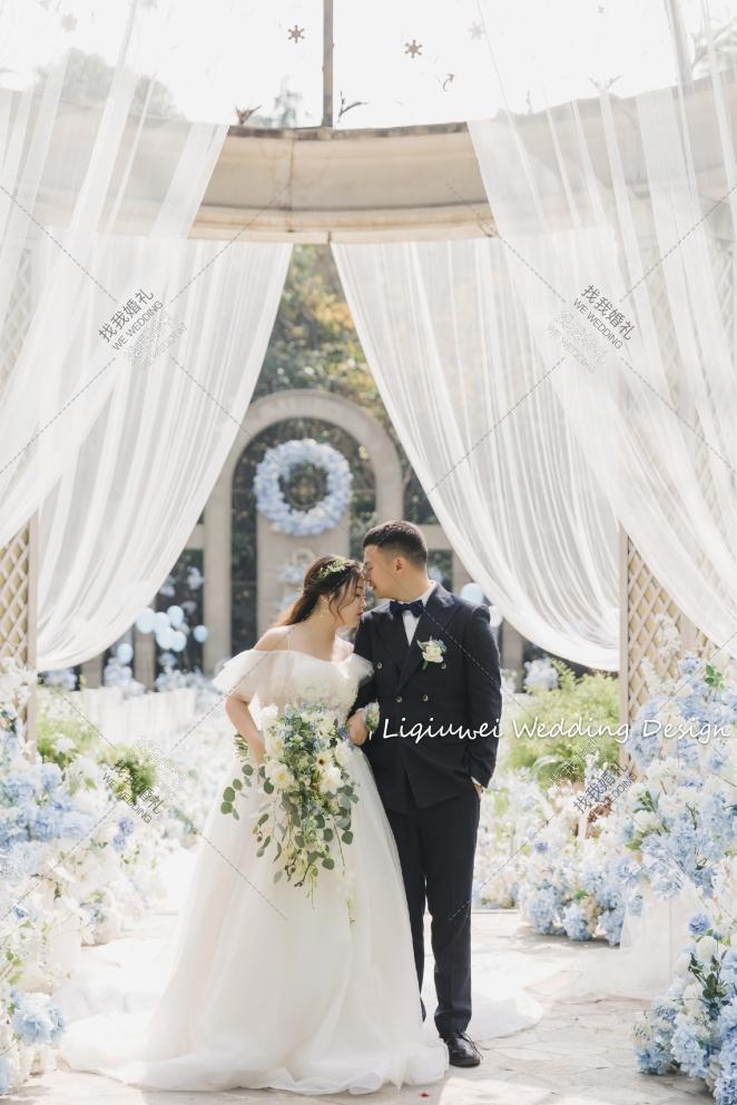Something Blue-白草坪西式婚礼照片