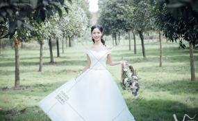 新繁北湖活水园-小清新婚礼图片