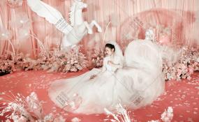 世外风情-一场关于粉色的梦婚礼图片