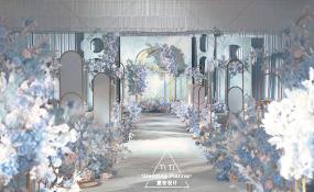 天来大酒店-水彩晨光婚礼图片