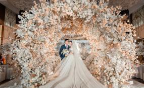 明宇豪雅饭店(科华店)-相逢是缘份的指引,认定是时间的验证婚礼图片