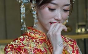 东方花苑-清新淡雅婚礼图片