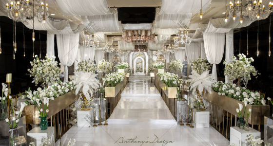 Grand Banquet of Roses · 玫瑰之夜-婚礼策划图片