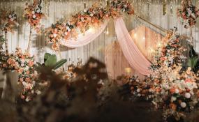 金银山金瑞酒店-9年+2200公里=我们的家婚礼图片