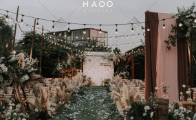 喜鹊先生花园餐厅-《因为爱情》婚礼图片