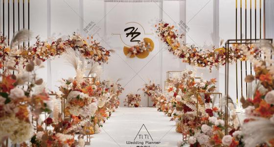 极简主义 | 泰式婚礼-婚礼策划图片