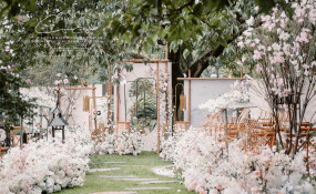 易园园林博物馆-宫微羽角-'阳春白雪婚礼图片