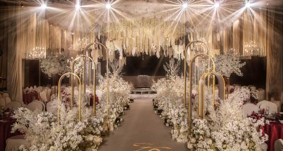 香槟白 | Return of happiness-婚礼策划图片