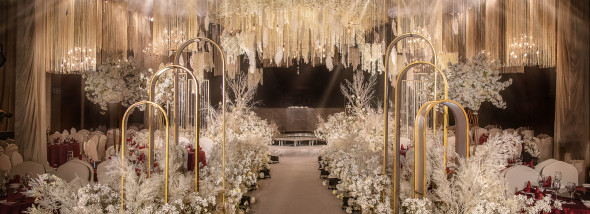 岷江·瑞邦大酒店-香槟白 | Return of happiness婚礼图片